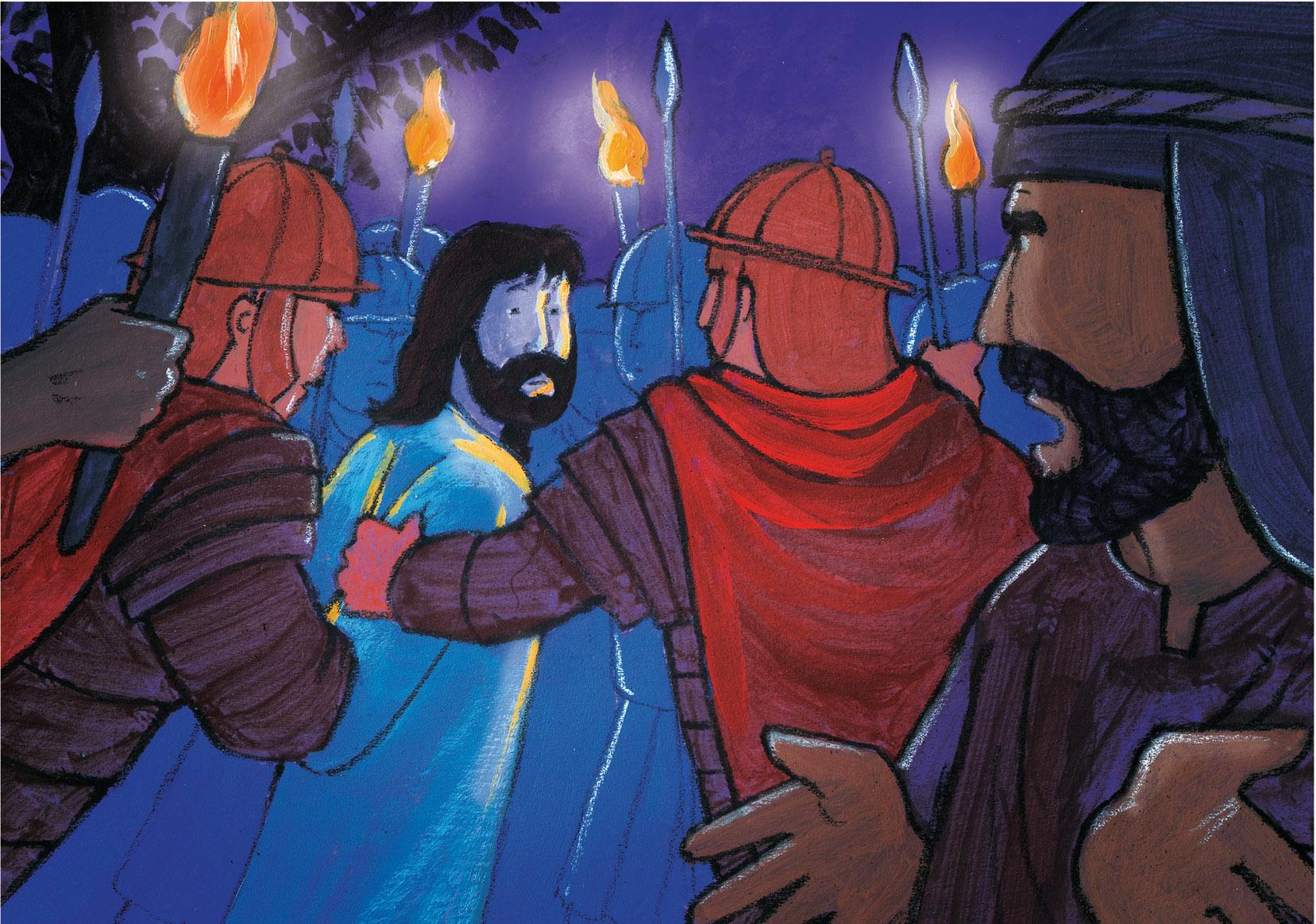 De pijn en de dood van Jezus