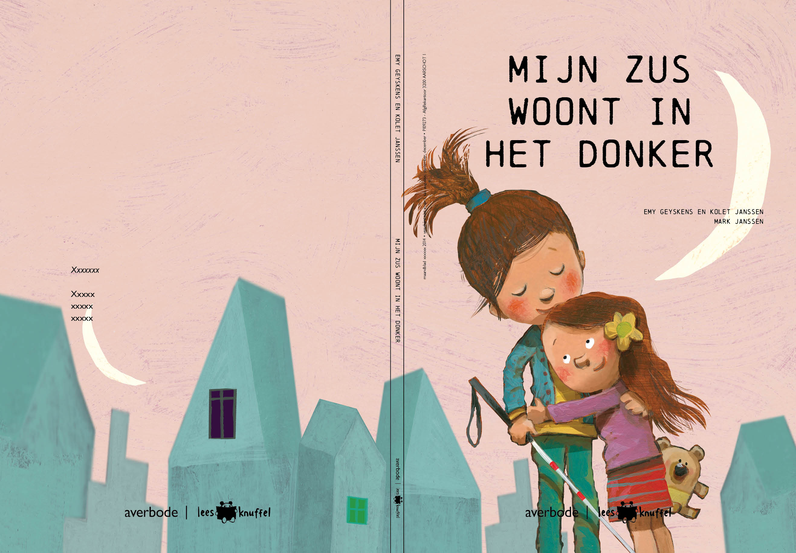 Boek in de maak: Mijn zus woont in het donker