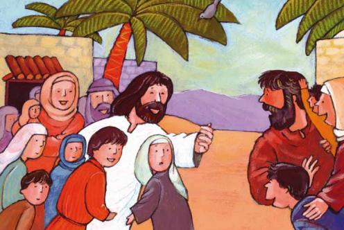 Mosterdzaadjes – Worden als kleine kinderen