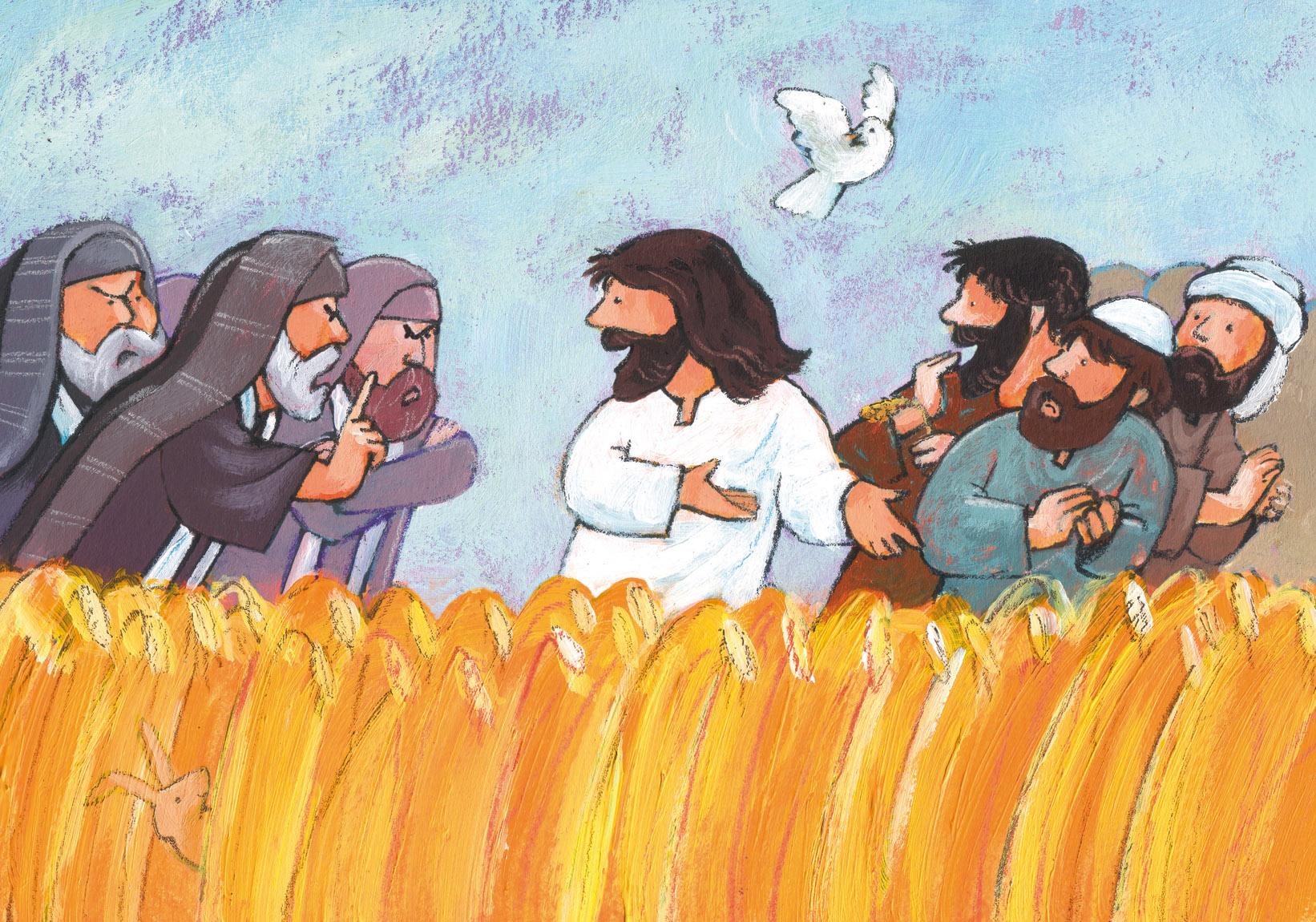 Mosterdzaadjes – Aren plukken op sabbat