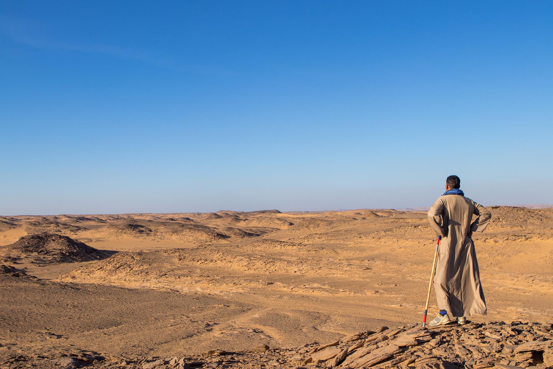 Zeuren in de woestijn
