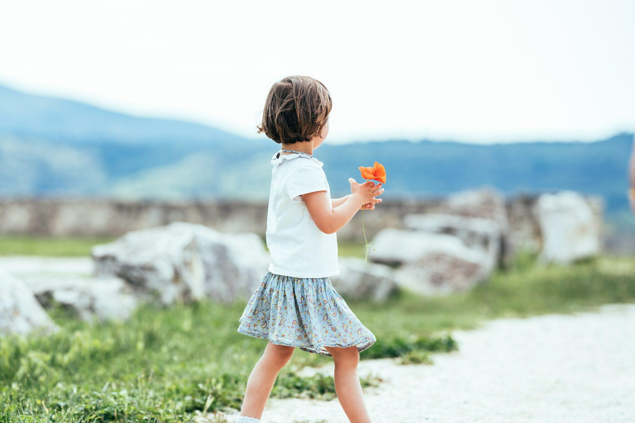 Het kleine meisje hoop