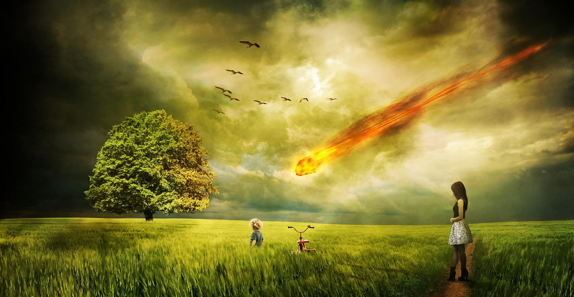 Vulkanen en meteoren