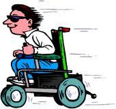 Leve de rolstoel!