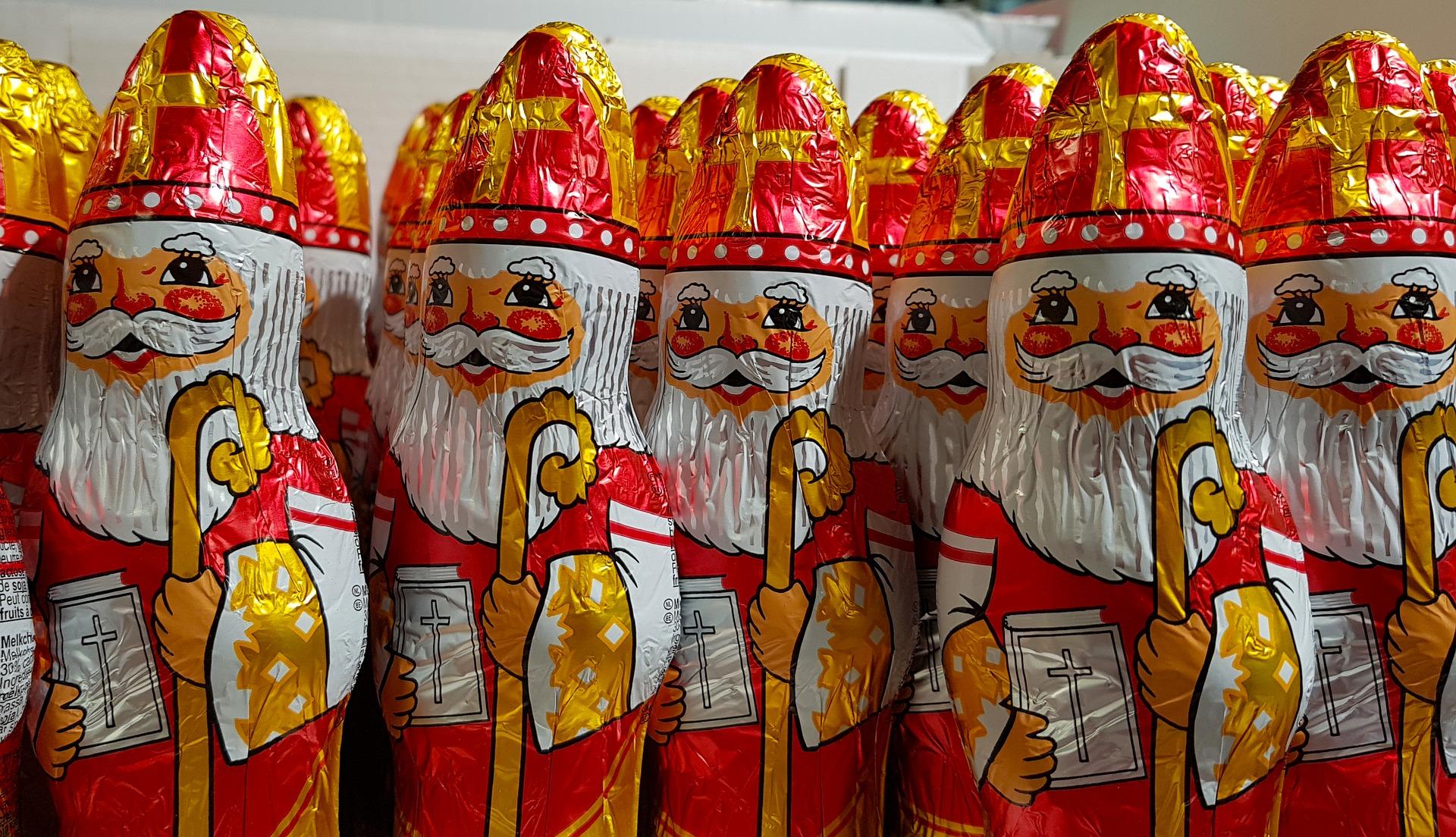 Sinterklaas in het rusthuis