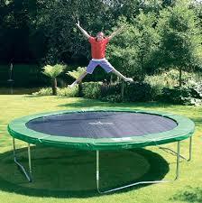 Kindergeld op de trampoline